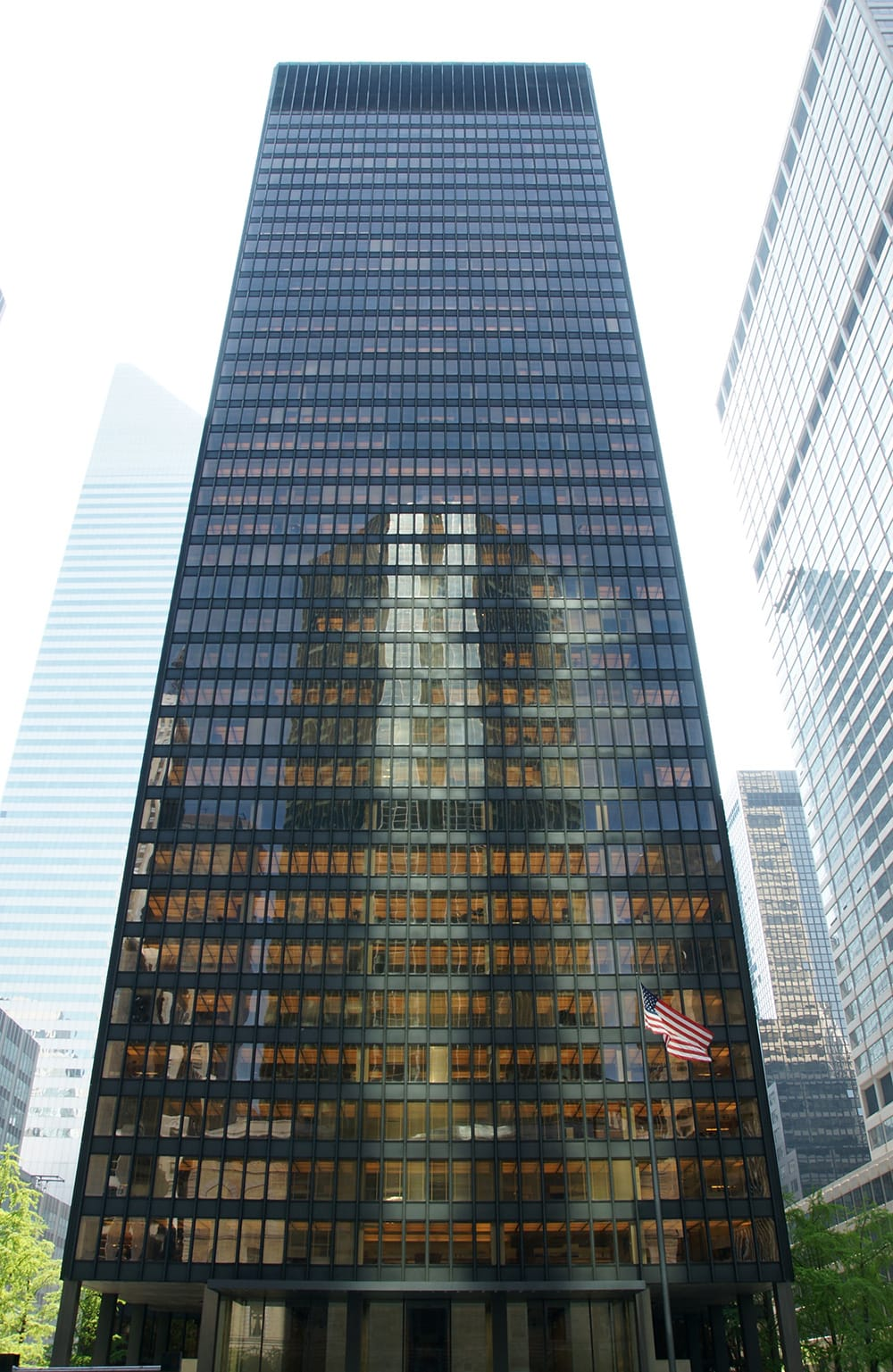 The Seagram building, NY