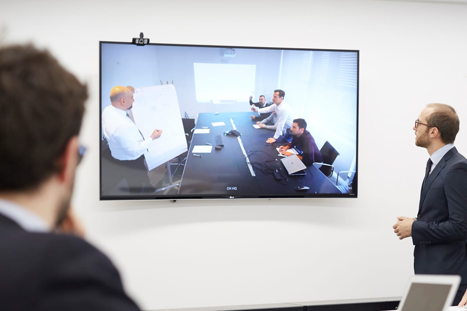 Video-conference at XY London